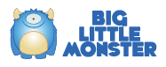 Big Little Monster Logo